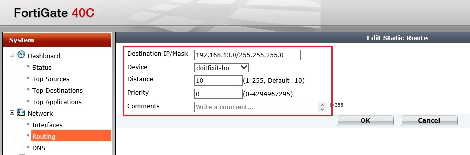 how to create policy in fortigate firewall