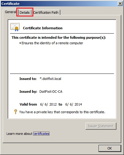 Importing a Microsoft IIS Server Certificate into FortiOS | Welcome ...